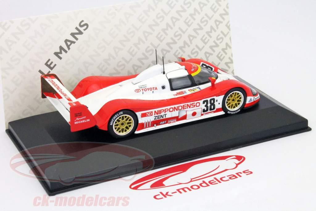 Toyota TS010 #38 8th Platz 24h LeMans 1993 Lees, Lammers, Fangio 1:43 Ixo