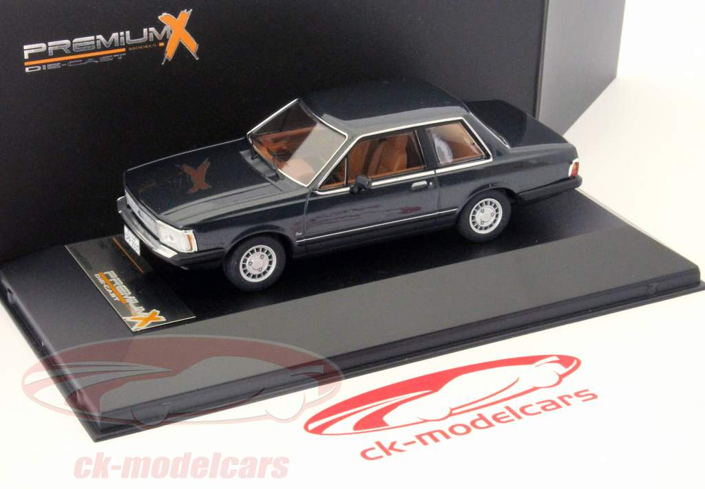 Ford Del Rey Ouro 1982 donkergrijs 1:43 Premium X