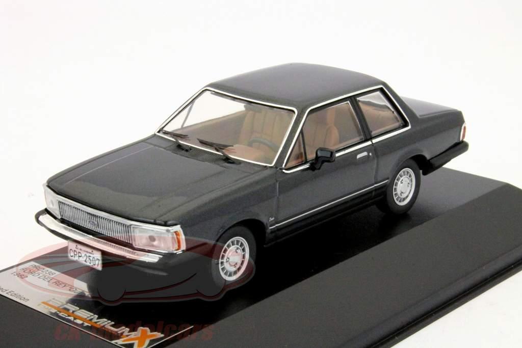 Ford Del Rey Ouro 1982 cinza escuro 1:43 Prêmio X