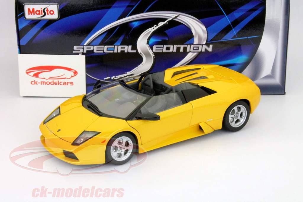 Maisto 1 18 Lamborghini Murcielago Roadster Yelow 31636 Model Car
