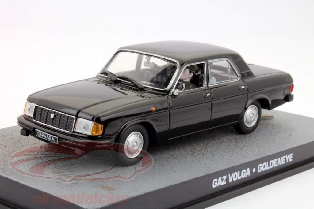 GAZ Volga James Vínculo Filme Carro Goldeneye 1:43 Ixo