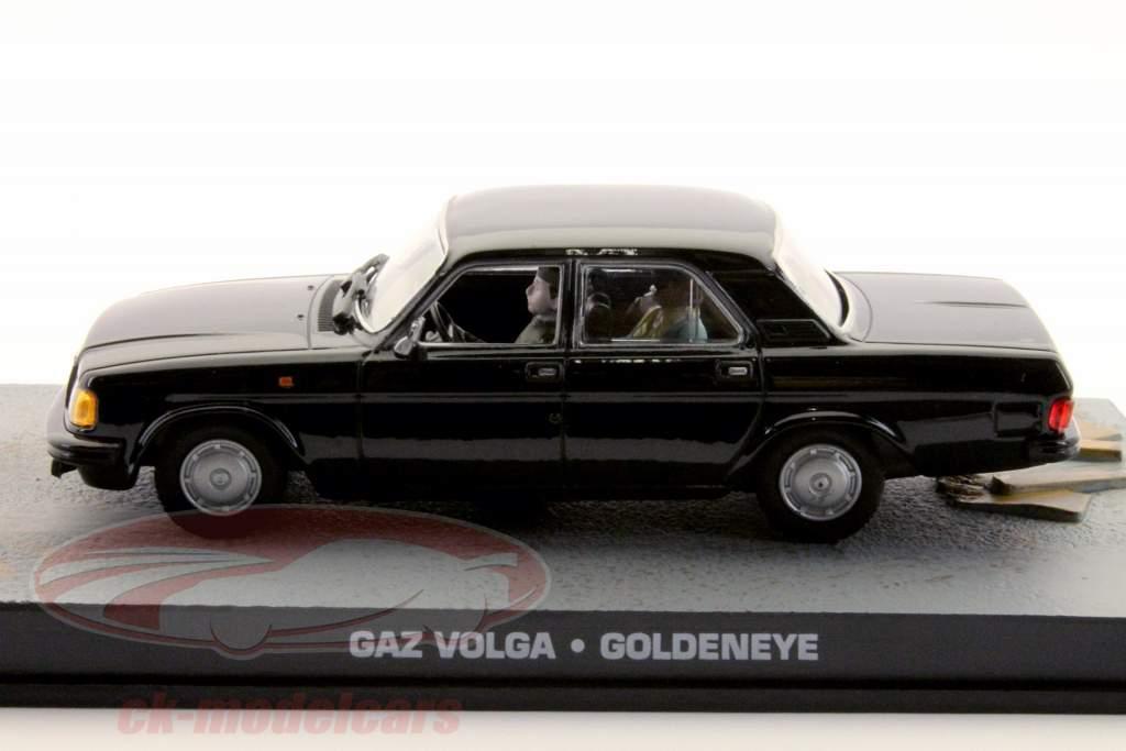 GAZ Volga James Enlace Película Coche Goldeneye 1:43 Ixo