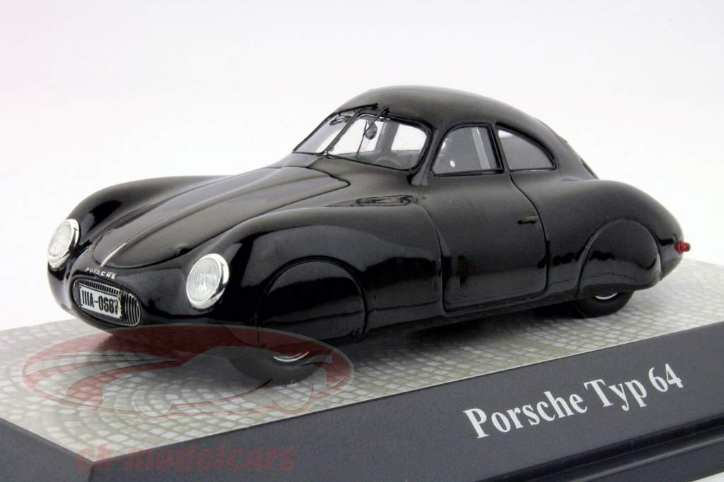 Porsche Typ 64 noir 1:43 PremiumClassiXXs
