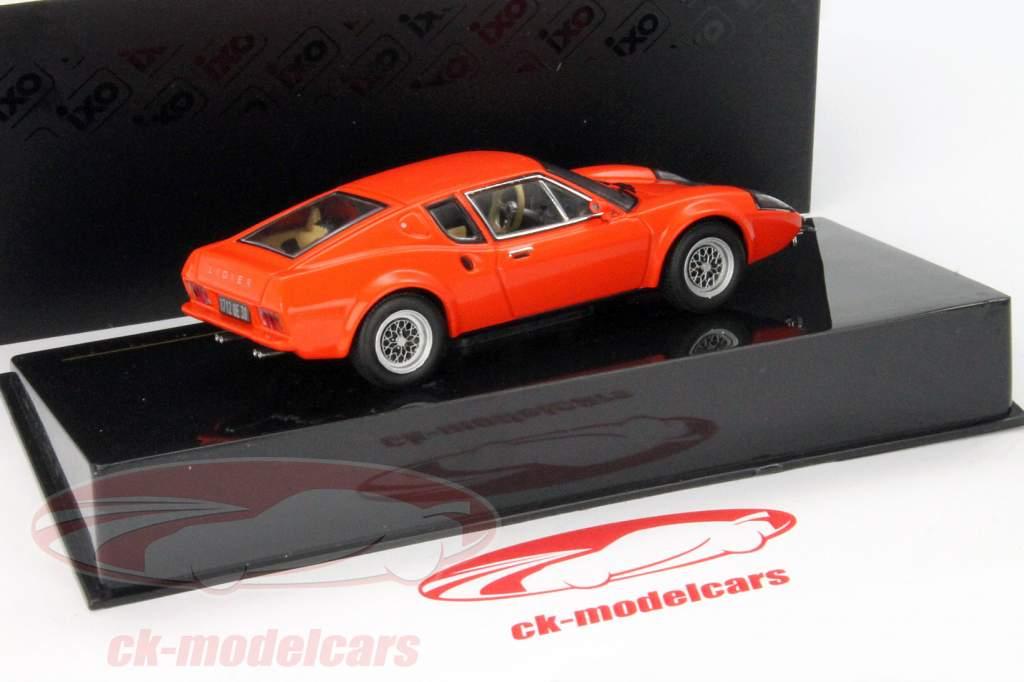 Ligier JS2 Coupe Anno 1972 rosso 1:43 Ixo