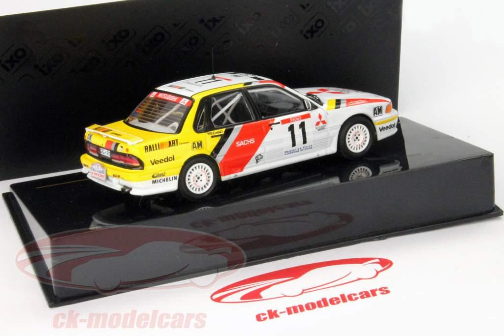Mitsubishi Galant VR-4 #11 Tour de Corse 1991 Holzer / Spiraal 1:43 Ixo