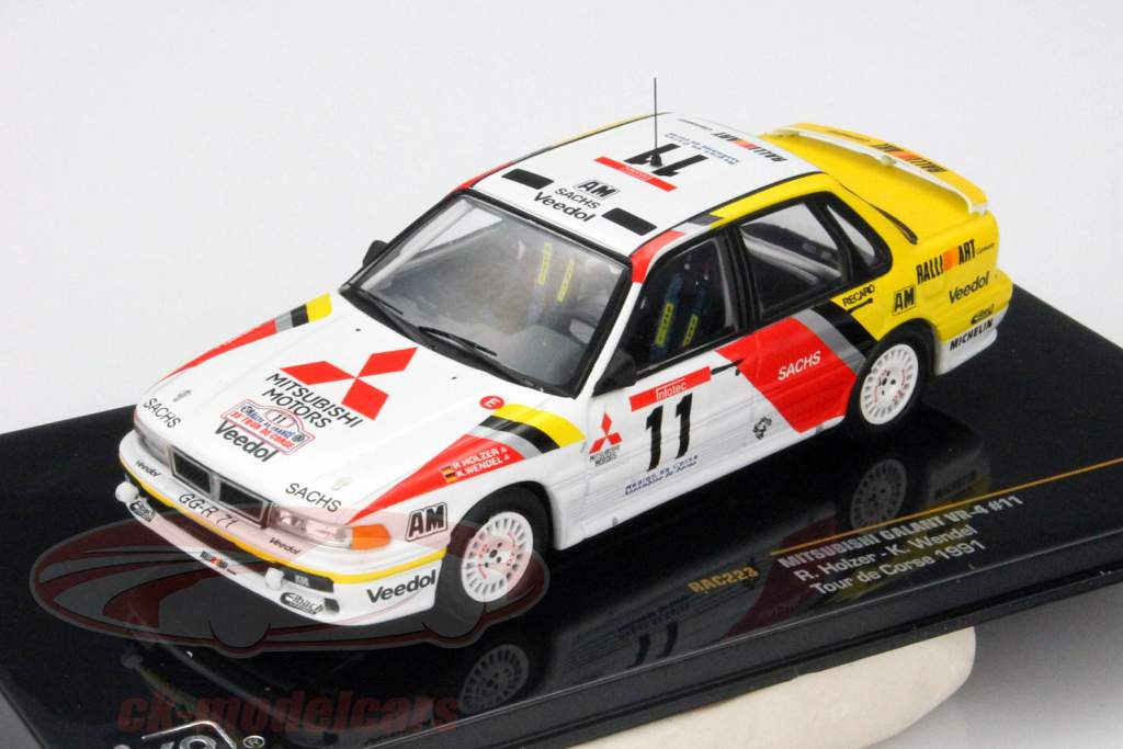Mitsubishi Gallantly VR-4 #11 Tour de Corse 1991 Holzer / Spiral 1:43 Ixo