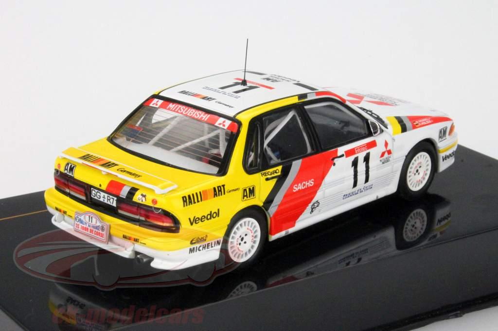 Mitsubishi Gallardamente VR-4 #11 Gira de Corse 1991 Holzer / Espiral 1:43 Ixo