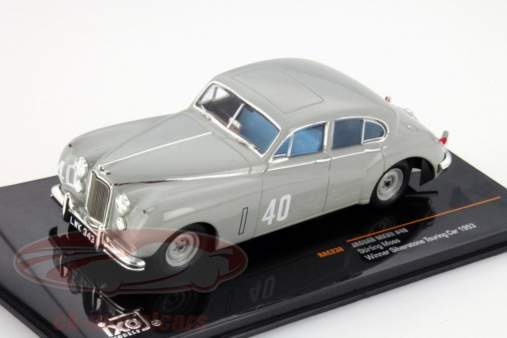 ixo-1-43-stirling-moss-jaguar-mkvii-no40-winnaar-silverstone-touring-car-1953-rac238/