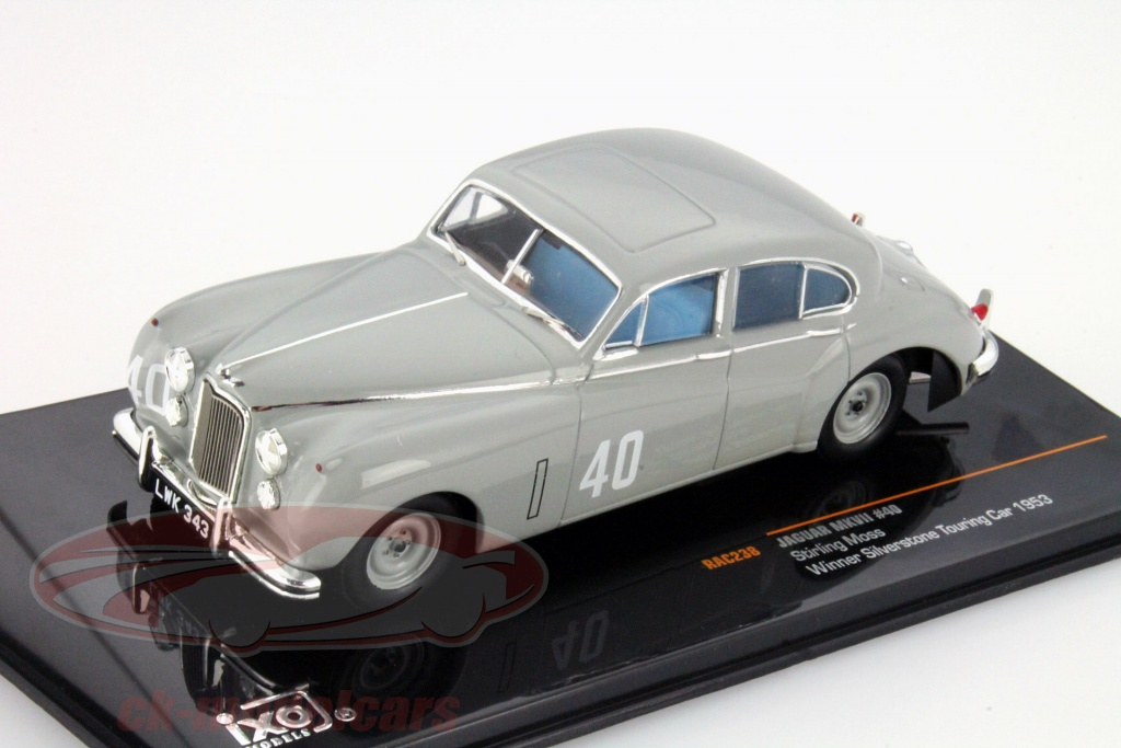 ixo-1-43-stirling-moss-jaguar-mkvii-no40-winner-silverstone-touring-car-1953-rac238/