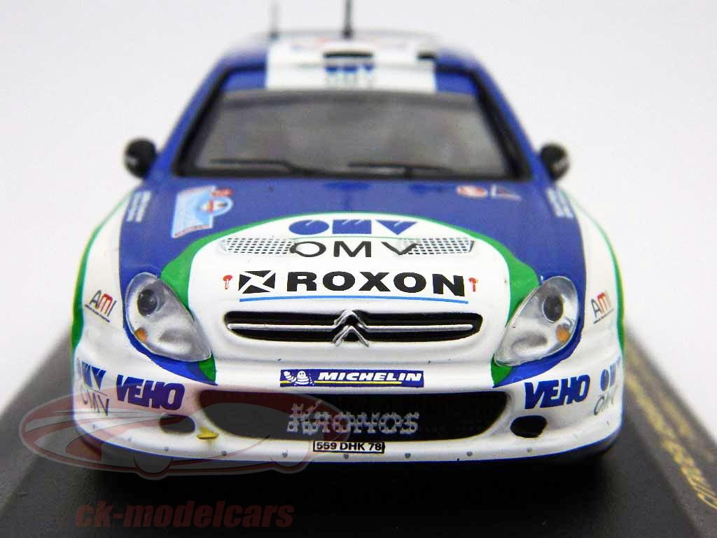 ixo-1-43-citroen-xsara-wrc-21-rally-italia-2005-ram192/