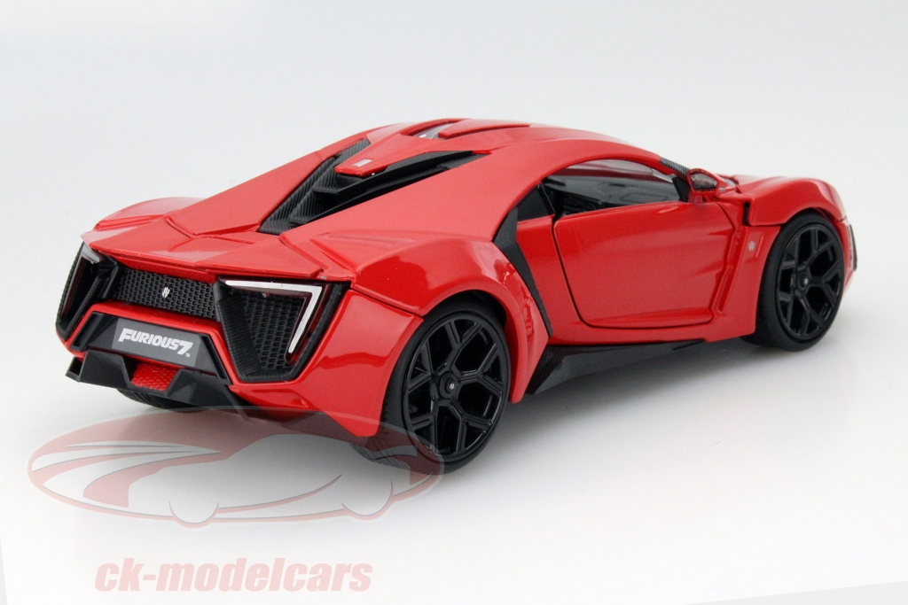 Jadatoys 1:24 Lykan Hypersport from the Movie Fast and Furious 7