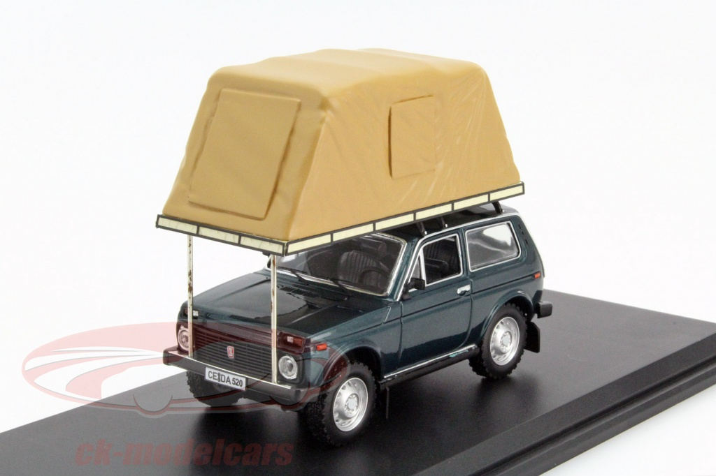 ixo-1-43-lada-niva-with-rooftent-year-1981-green-ist-ist296mr/