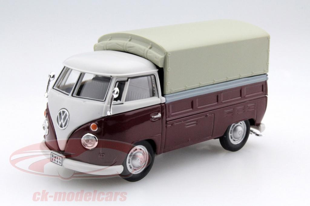 cararama-1-43-volkswagen-vw-t1-pick-up-con-planes-rojo-beige-251pnd6/