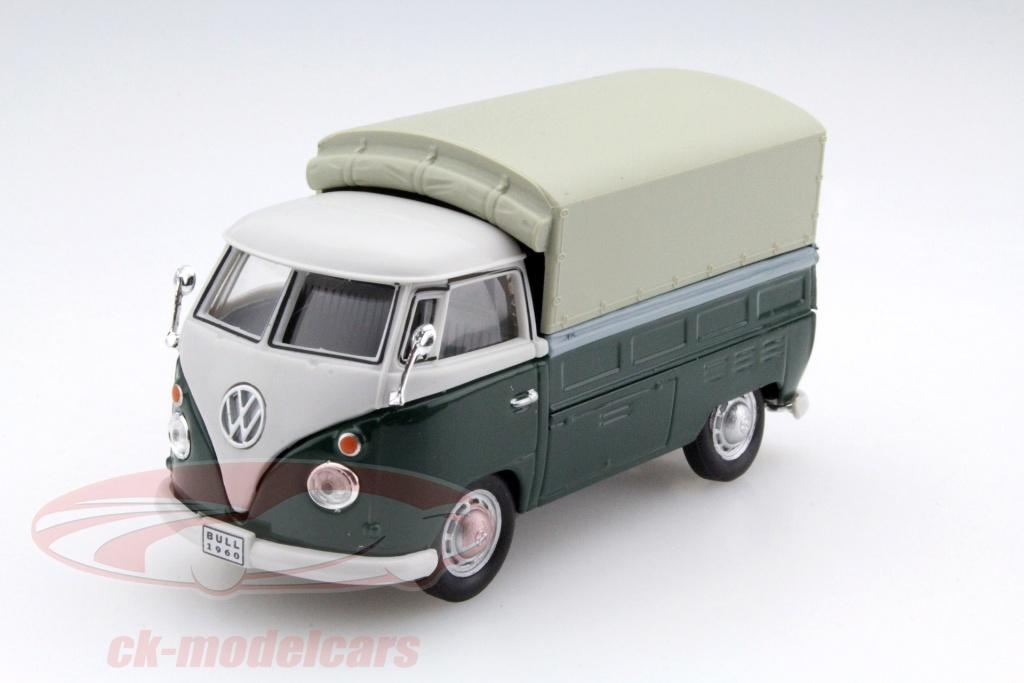 cararama-1-43-volkswagen-vw-t1-pick-up-avec-des-plans-vert-beige-251pnd4/