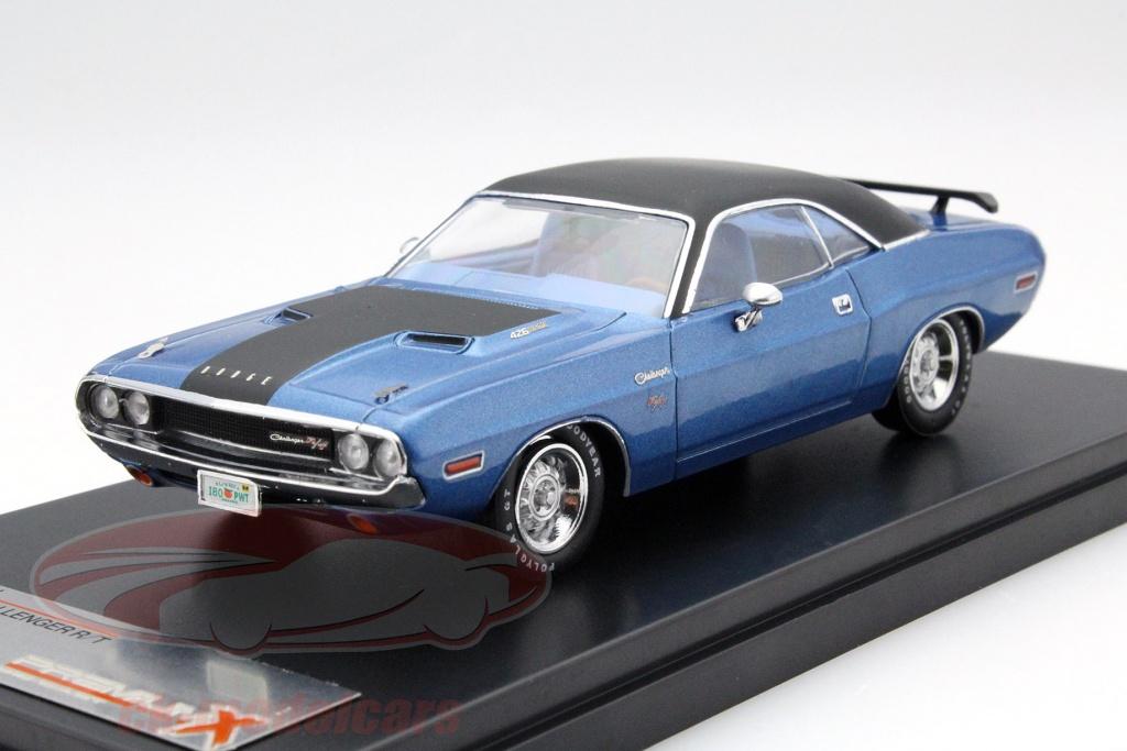 premium-x-1-43-dodge-challenger-r-t-anno-1970-blu-nero-prd406j/