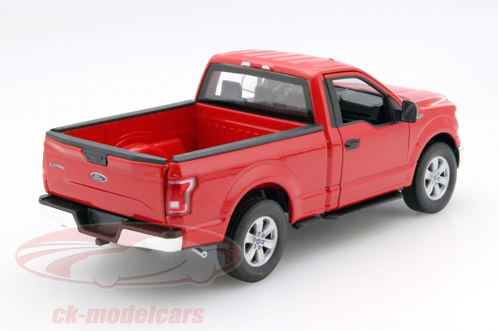 WELLY 2015 FORD F-150 REGULAR CAB PICK UP TRUCK 1:24 RED USA FREE SHIP