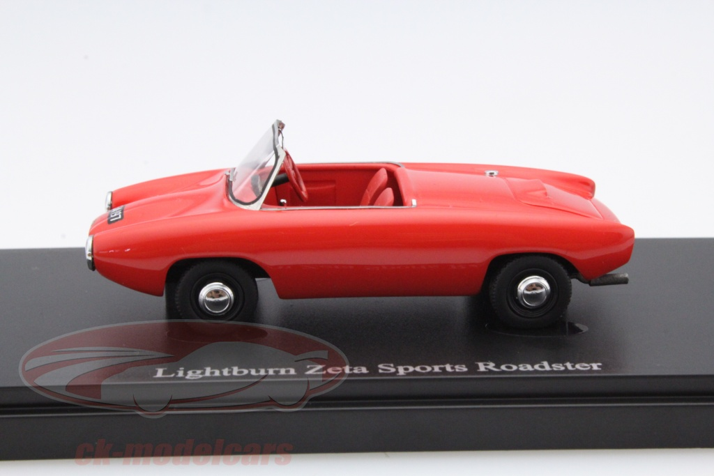 AutoCult 1:43 Lightburn Zeta Sports Roadster Year 1964 red 02005