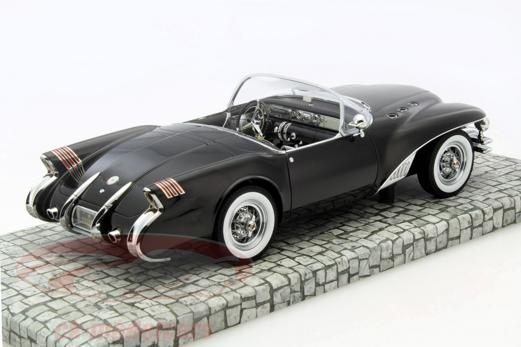 Minichamps 1 18 Buick Wildcat 2 Concept Car Year 1954 Black