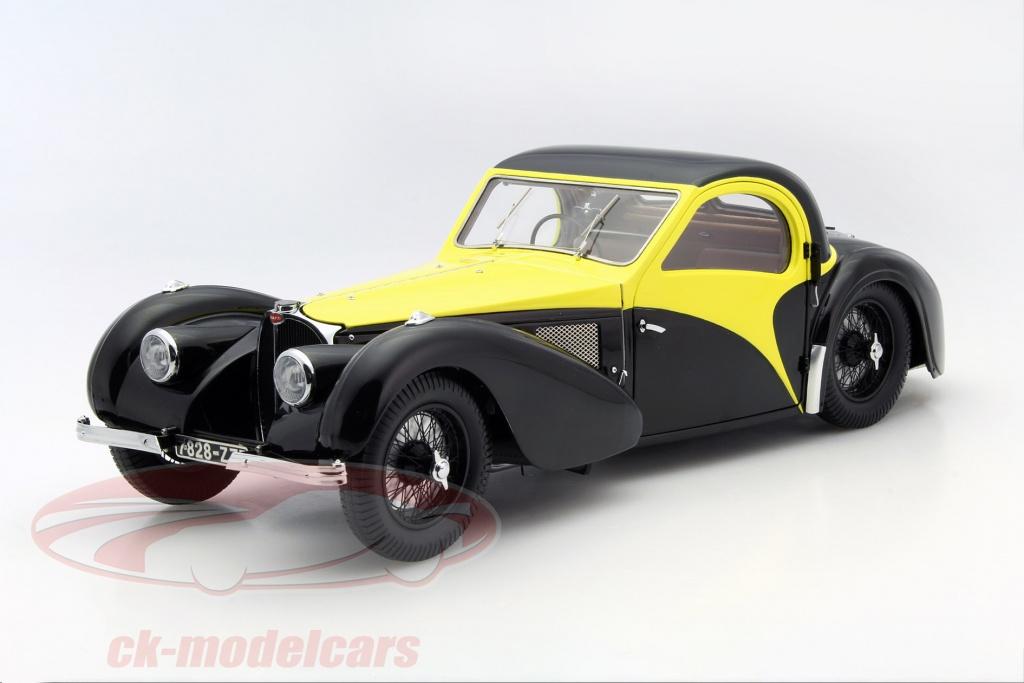 bauer-1-12-bugatti-atalante-type-57-sc-ano-1937-preto-amarelo-7828-z75y/
