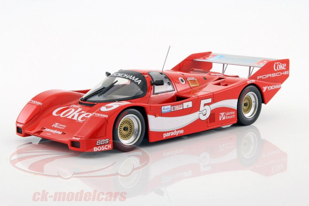 Lot 58962top mark 8168 Porsche 911 carrera s gris metalizado 1:40 nuevo en OVP