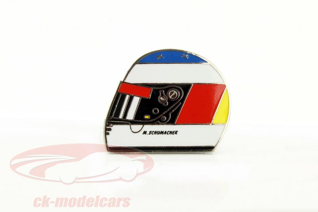 michael-schumacher-helm-pin-jordan-1st-race-spa-gp-formel-1-1991-ms-13-81991/