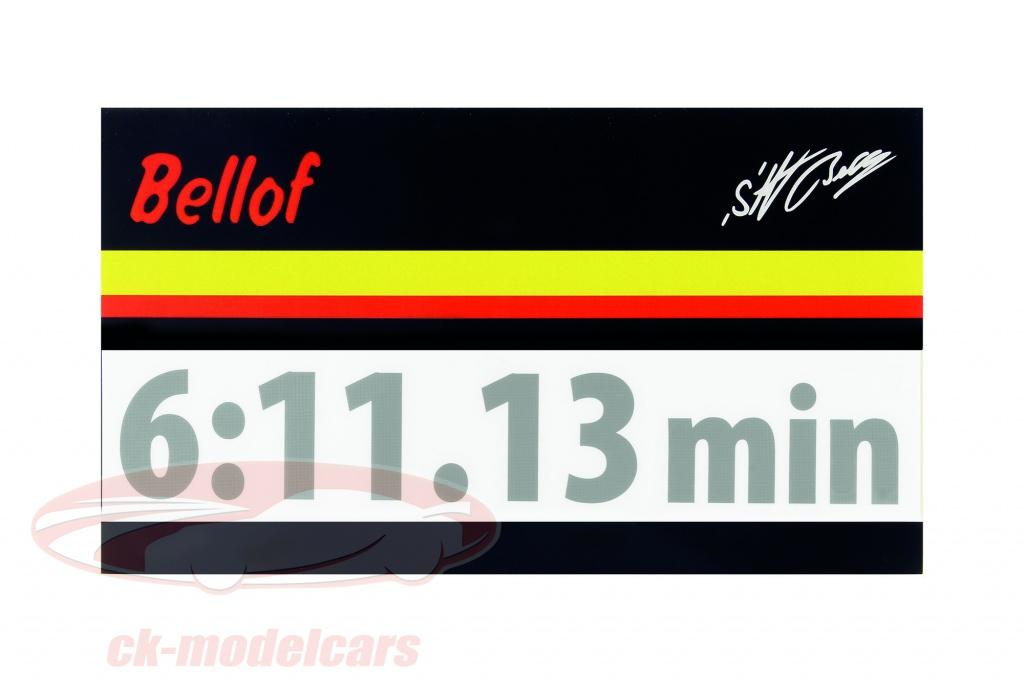 stefan-bellof-autocollant-record-du-tour-6-1113-min-argent-120-x-25-mm-bs-17-812-s/