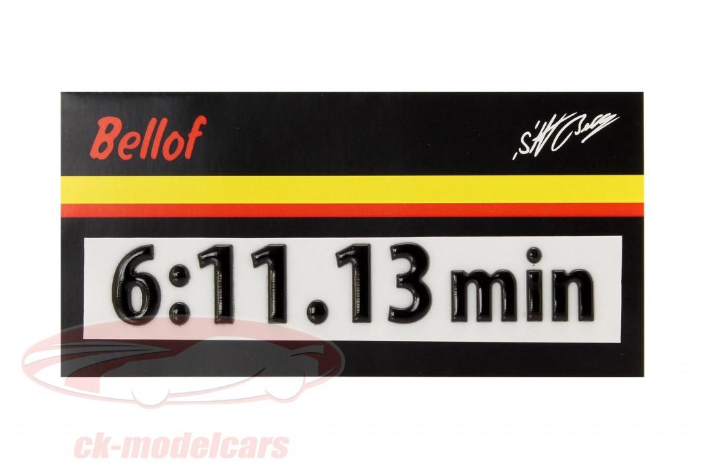 stefan-bellof-3d-sticker-record-lap-6-1113-min-black-120-x-25-mm-bs-17-812-b3d/
