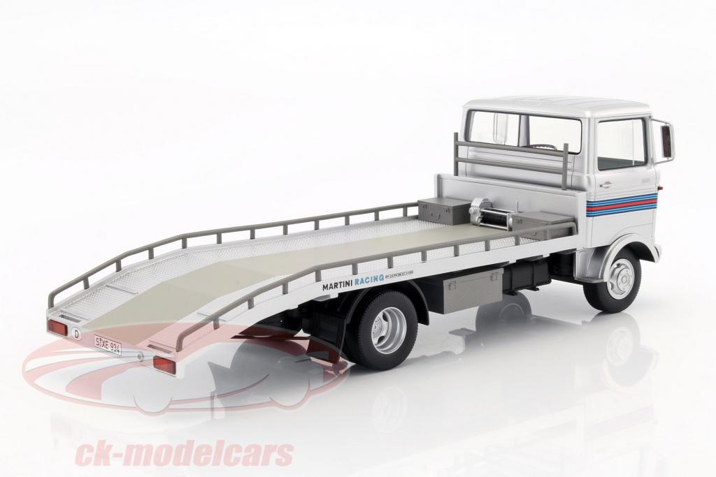 Auto- & Verkehrsmodelle Autos, Lkw & Busse Mercedes Lp608 Martini Porsche Abschleppwagen 1:18 Premium Classixxs >>new<<