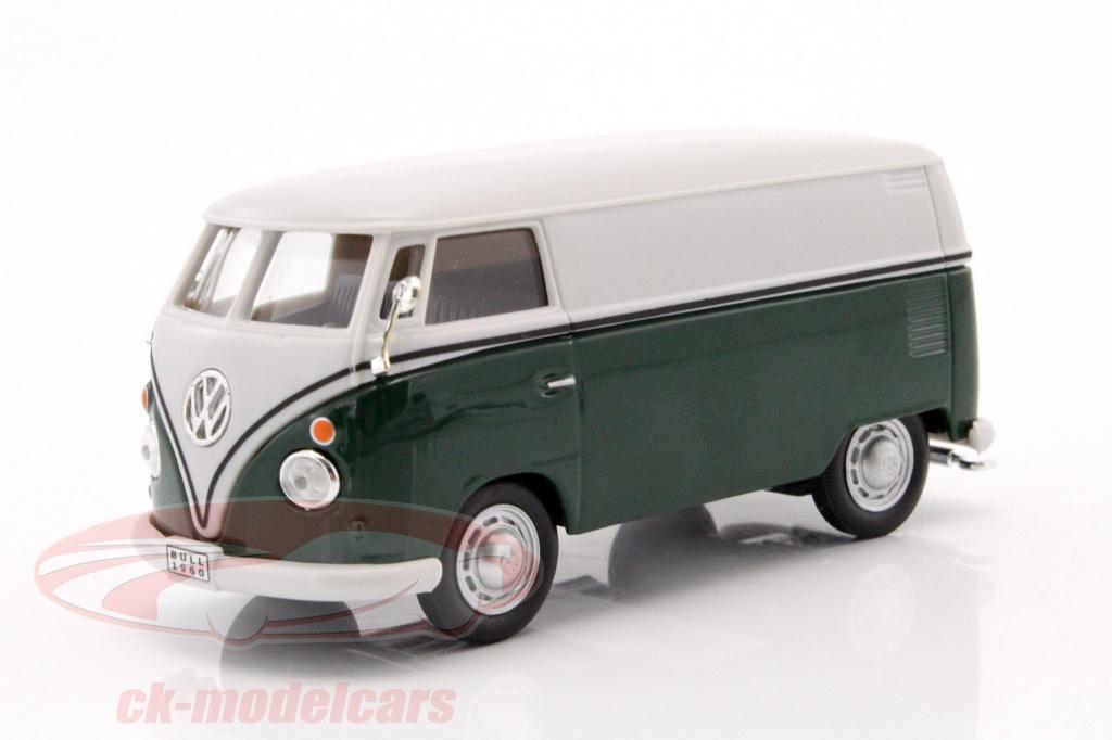 cararama-1-43-volkswagen-vw-t1-van-mrkegrn-hvid-car4-60344a/