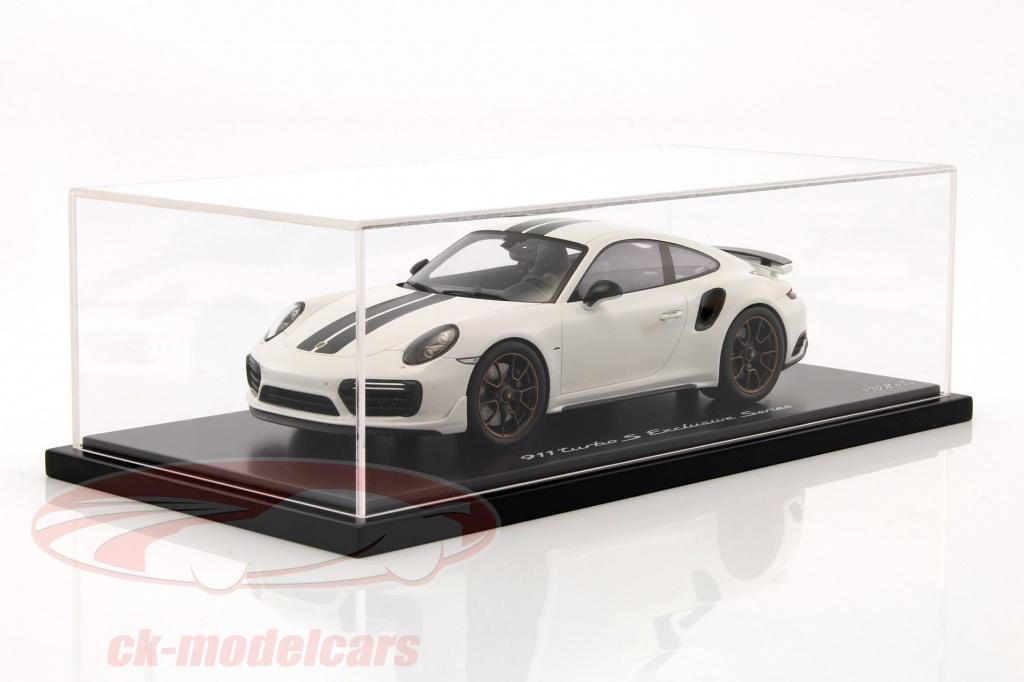 spark-1-18-porsche-911-991-turbo-s-exclusive-series-blanc-noir-avec-vitrine-wap0219030h/