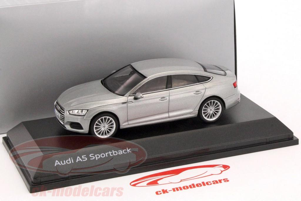 Spark 1 43 Audi A5 Sportback Baujahr 2017 Florettsilber 5011605031