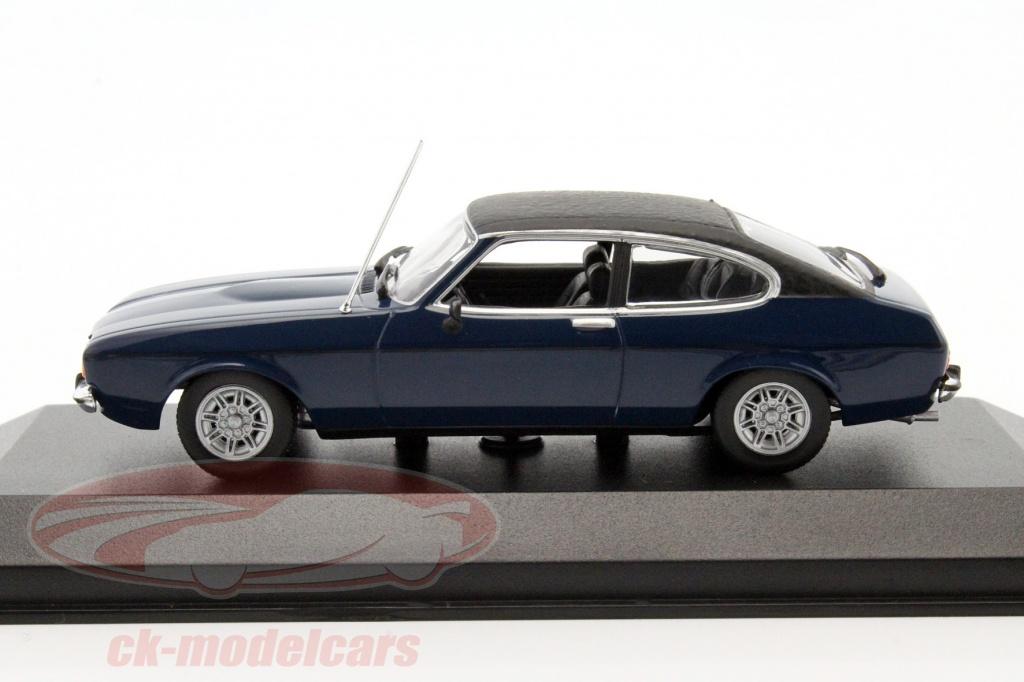 Minichamps 1 43 Ford Capri Ii Year 1974 Dark Blue 940081201 Model