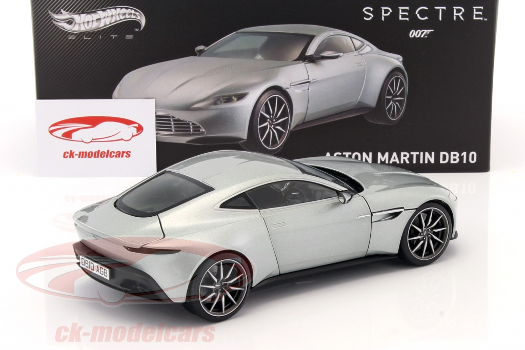 hotwheels elite 1:18 aston martin db10 james bond spectre 2015