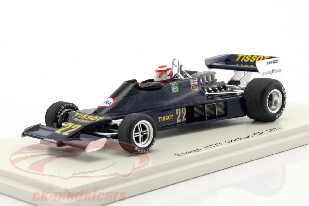 spark-1-43-nelson-piquet-ensign-n177-no22-duitsland-gp-formule-1-1978-s4815/