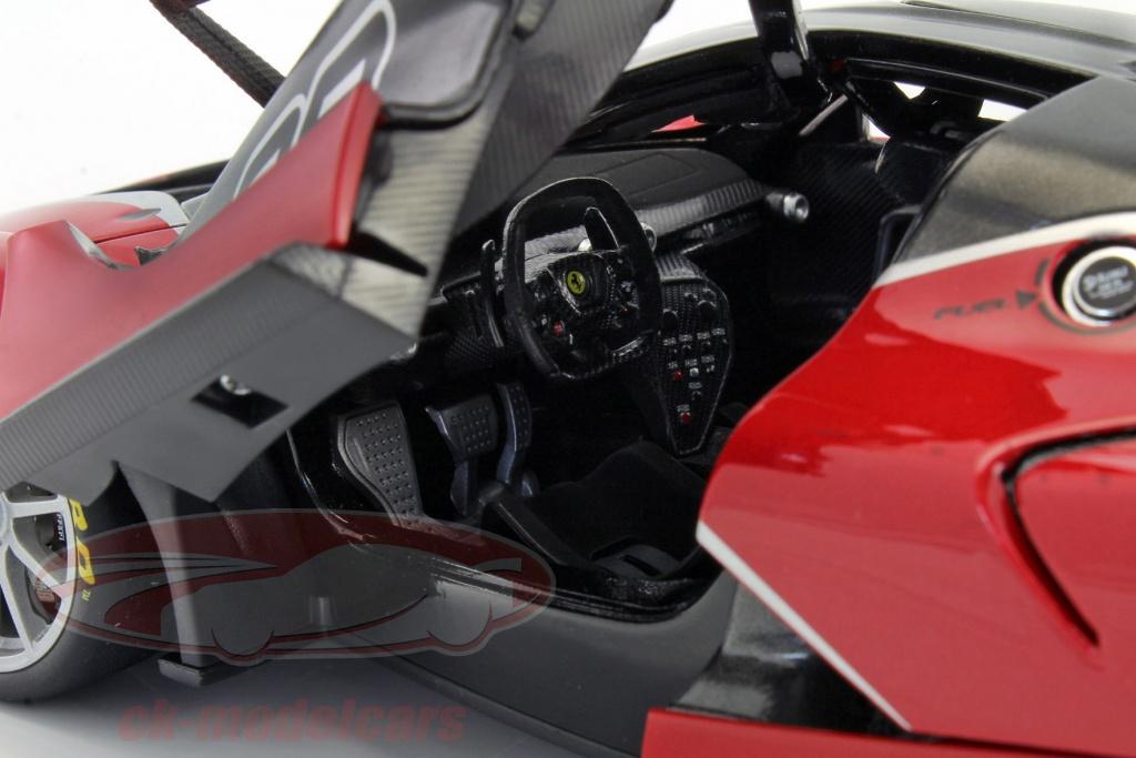 Bburago 1 18 Ferrari Fxx K 88 Red Black Signature 18 16907r Model Car 18 16907r 4893993169078