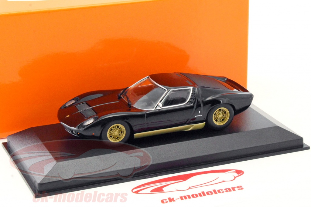 Minichamps 1 43 Lamborghini Miura Year 1966 Black 940103000 Model