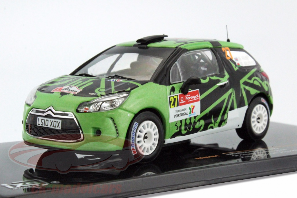 ixo-1-43-citroen-ds3-r3-no27-rally-portugal-wrc-2011-hunt-mcphee-ram461/