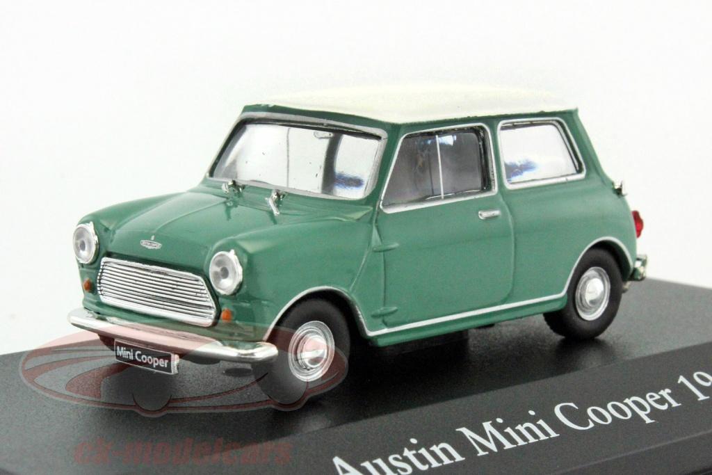 atlas-1-43-austin-mini-cooper-bouwjaar-1961-groen-wit-2891020/