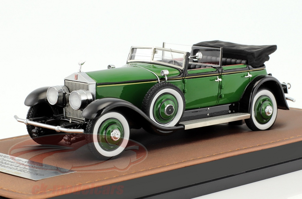 great-lighting-models-1-43-rolls-royce-phantom-marlene-dietrich-hibbard-darrin-cabriolet-open-top-baujahr-1930-gruen-glm43205201/