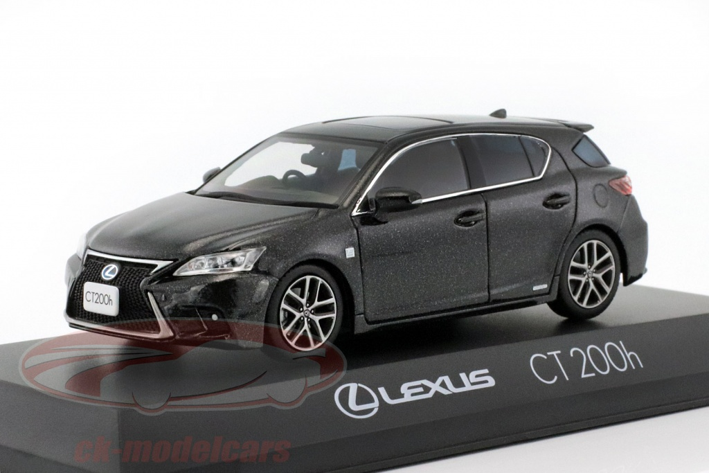 kyosho-1-43-lexus-ct-200h-sport-graphite-noir-3656bk2/