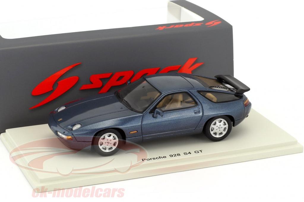 spark-1-43-porsche-928-s4-gt-anno-di-costruzione-1990-blu-scuro-s4944/