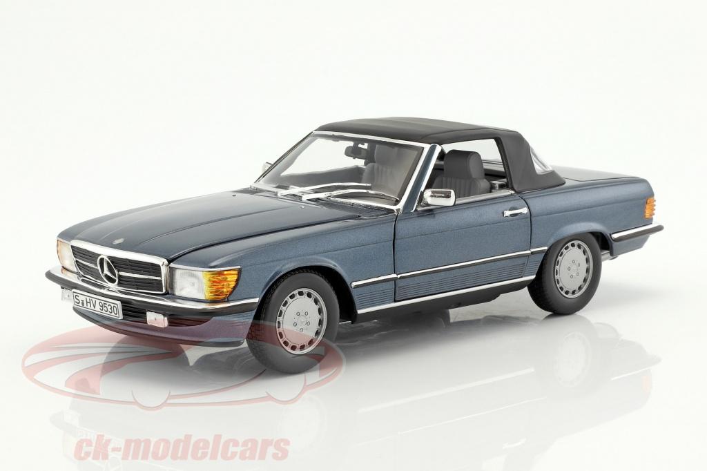 norev-1-18-mercedes-benz-300-sl-r107-bouwjaar-1985-89-lapis-blauw-metalen-b66040634/