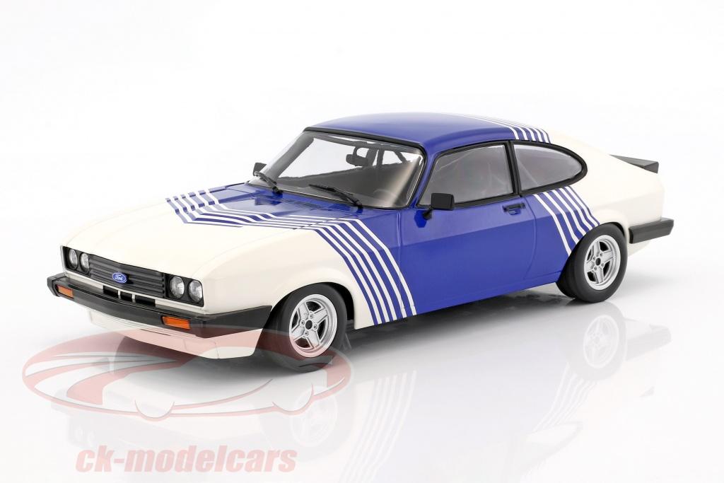 minichamps-1-18-ford-capri-30-baujahr-1978-weiss-blau-155788600/