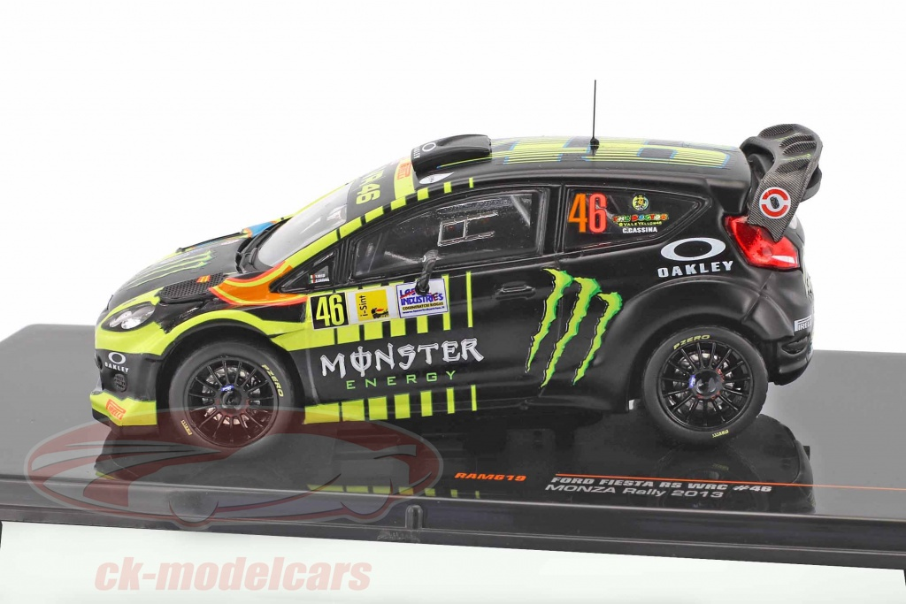 Ford Fiesta RS WRC No4 Bolonia Motor Show 2011 escala 1-43 nuevo en caso RAM465