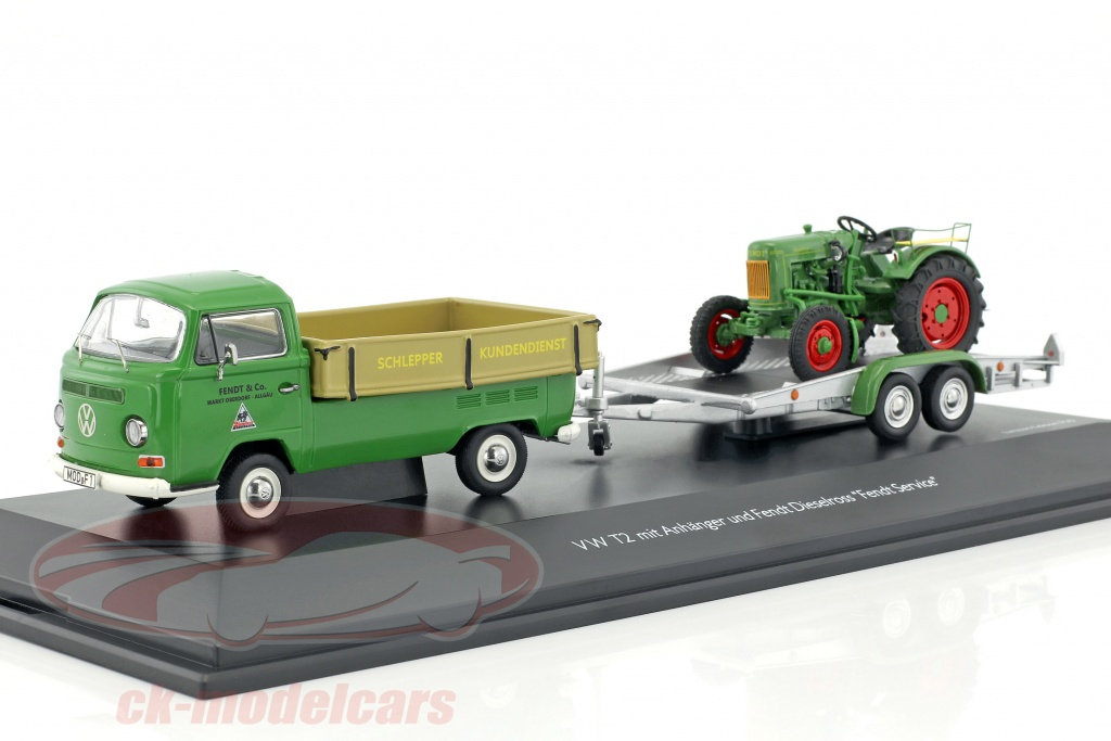 schuco-1-43-volkswagen-vw-t2a-pick-up-with-trailer-and-fendt-dieselross-green-beige-silver-450334200/
