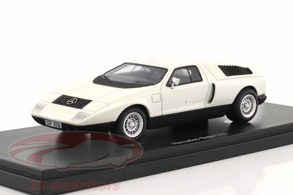 autocult-1-43-mercedes-benz-c111-prototype-annee-de-construction-1969-blanc-90062/