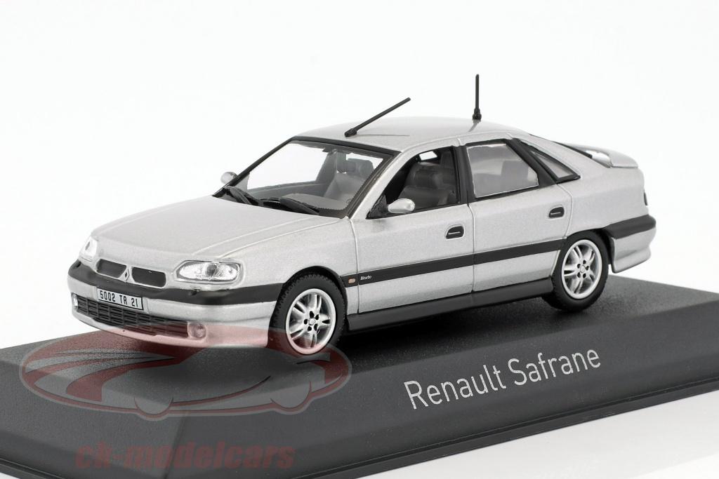 norev-1-43-renault-safrane-biturbo-baccara-baujahr-1993-silber-metallic-517747/