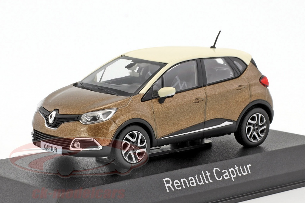 norev-1-43-renault-captur-year-2013-brown-metallic-ivory-517774/