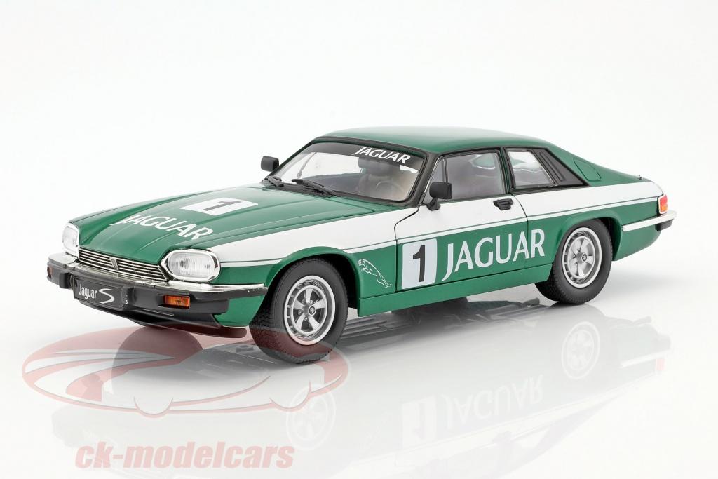 lucky-diecast-1-18-jaguar-xjs-no1-vert-blanc-92658/