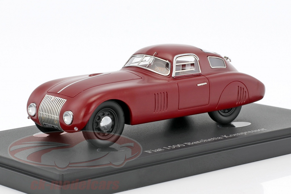 autocult-1-43-fiat-1500-barchetta-kompressor-annee-de-construction-1943-rouge-04013/